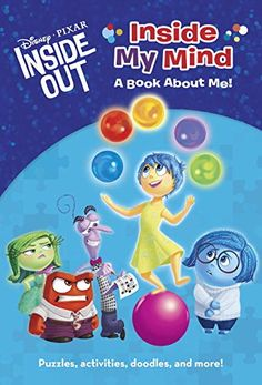 19 Super-Interesting Facts About Pixars Inside Out Inside My Mind: A Book About Me! Puzzles, Activities, Doodles more from Disney/Pixar Inside Out (Disney Chapters) Inside Out Toys, Inside Out Emotions, Movie Inside Out, Disney Inside Out, Inside Me, Therapy Activities, Book Activities, Disney Activities, Social Emotional Learning