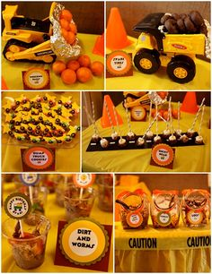 Ideas for a cars and trucks and things that go birthday party - BabyCenter