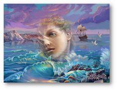 DIVAGAR SOBRE TUDO UM POUCO: Canção do Mar Aberto - Poema de Armando Côrtes-Rodrigues