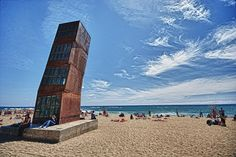 homentage a la Barceloneta, by Rebecca Horn - Barcelona, spain