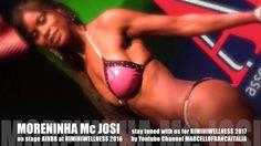 MORENINHA Mc JOSI on stage AINBB in RIMINI WELLNESS 2016