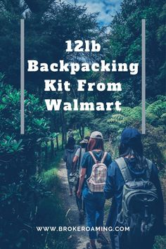 Find out how to get an entire lightweight backpacking set up from Walmart! This article breaks down each piece of gear I would buy from my local Walmart to make a gear set up. Backpacking For Beginners, Backpacking Gear List, Ultralight Backpacking, Thru Hiking, Hiking Tips, Hiking Gear, Kayak Camping, Camping Hammock, Hiking Quotes