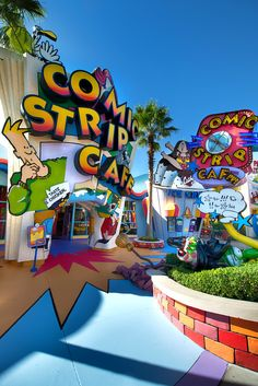 Islands of Adventure of Universal Studios in Orlando, Florida_ USA