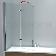 duschabtrennung badewanne duschwand badewannenfaltwand. Black Bedroom Furniture Sets. Home Design Ideas