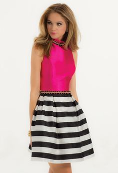 Striped Mikado #cami