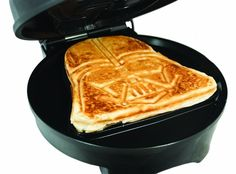No need for your waffles to join the dark side with the regulating thermostat on this Pangea Star Wars Darth Vader waffle maker. Star Wars Cake, Star Wars Gifts, Star Wars Darth, Darth Vader, Small Kitchen Appliances, Kitchen Gadgets, Cooking Gadgets, Kitchen Small, Kitchen Dining