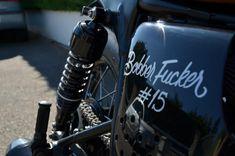 Fucker #15 - Triumph Bonneville - #BobberFucker