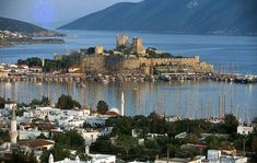 Bodrum is a seaside resort in the southwest corner of Turkey that attracts the jet-set during the summer months.