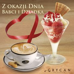 z okazji Dnia Babci i Dziadka - do dowolnego deseru w pucharze, ulubiona kawa gratis | to celebrate Grandparents Day, we give you your favourtie coffee for free