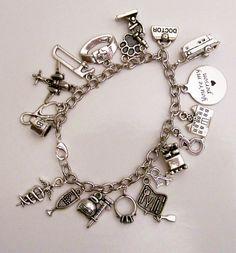 Greys Anatomy Themed Charm Bracelet You by InspiredDesignsByRob