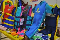 Swim gear and toys