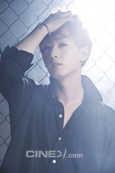 Eunhyuk, from Super Junior.  A gravure for Korean film magazine 'Cine21'.