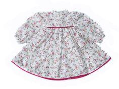 Puppenkleidung Kleid Blümchen