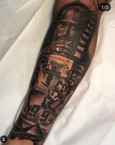 Egypt, Mansa Musa, Malcolm X, Tupac Shakur. How will your story be told? First half a lower leg sleeve me and are working… Black Men Tattoos, Black People Tattoos, Full Leg Tattoos, Half Sleeve Tattoos Designs, Tattoo Designs Men, Full Tattoo, Mens Tattoos, Tribal Tattoos, African Sleeve Tattoo