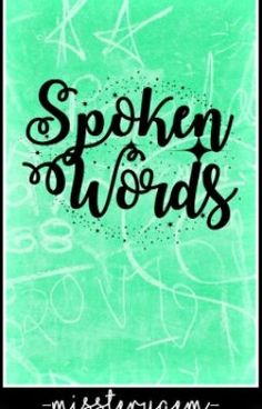 """I just published another book called """"Spoken Words"""". Here you can read my tagalog poems."""