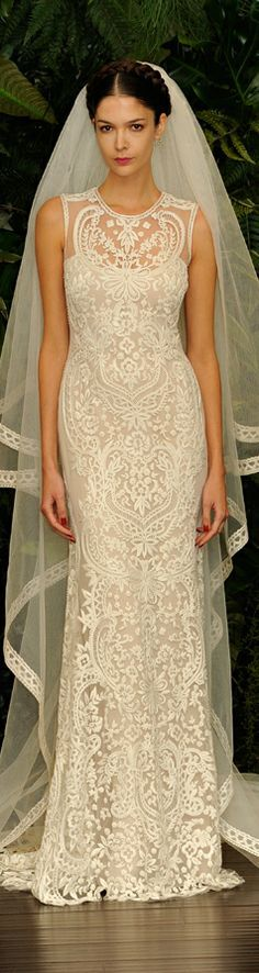 The new Naeem Khan wedding dresses have arrived! Take a look at what the latest Naeem Khan bridal collection has in store for newly engaged brides. Wedding Dresses 2014, Wedding Attire, Bridal Dresses, Wedding Gowns, Wedding Cake, Lace Wedding, Wedding Rings, Yes To The Dress, Dress Up