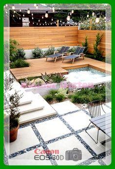 28 small garden design for small backyard ideas 00022 Small Backyard Gardens, Backyard Garden Design, Small Backyard Landscaping, Small Garden Design, Patio Design, Landscaping Ideas, Pool Backyard, Small Terrace, Backyard Designs