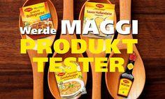 Conny's kleine Wunderwelt: Produkttester für MAGGI im Raum Frankfurt gesucht!...