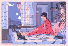 "HAI on is part of drawings Disney Style Merida - zhAQxwMqUz"" Aesthetic Drawing, Aesthetic Art, Aesthetic Anime, Japanese Aesthetic, Art And Illustration, Character Illustration, Cartoon Kunst, Cartoon Art, Pretty Art"
