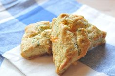 Cheddar and Dill Scones