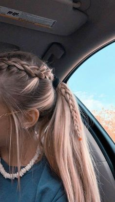 2019 Lindos Peinados con Trenzas – Fácil Paso a Paso 2019 Cute Hairstyles with Braids – Easy Step by Step More from my site Cute Little Girl Hairstyles Easy Braided Ponytail Hairstyles, Pretty Hairstyles, Hairstyle Ideas, Cute School Hairstyles, Braid In Ponytail, Teen Hairstyles, Volleyball Hairstyles, Running Hairstyles, Athletic Hairstyles