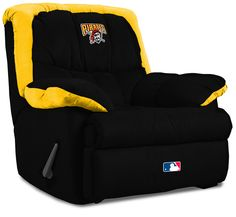 Pittsburgh Pirates Home Team Recliner Chair from Imperial International