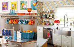 Como decorar cozinhas pequenas: 10 dicas e 20 modelos para você se inspirar - Casinha Arrumada