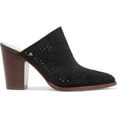 bde0d76c3 Sam Edelman - Bates Perforated Suede Mules