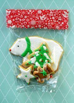 Christmas Sugar Cookies packaging idea