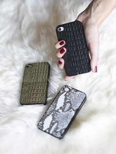 4/4S/5/5s Leather iPhone Cases