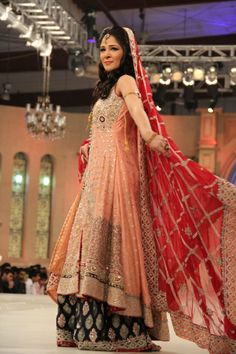 Pakistan bridal couture week '12! Love you ayesha omar...