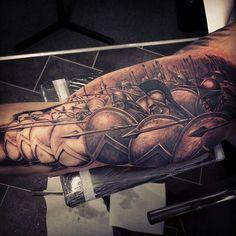 Spartans Greek Tattoo
