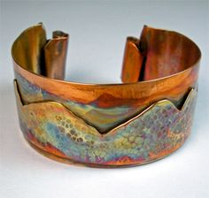 Deb Horvath--Continental Divide Just beautiful! Love the patina