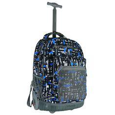 fce564618f J World Sundance Rolling Backpack with Laptop Sleeve