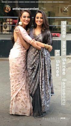 Saree Dress, Saree Blouse, Bollywood, South Indian Sarees, Sexy Blouse, Elegant Saree, Wedding Matches, Saree Styles, Beautiful Asian Women