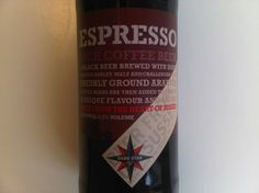 Cerveja Dark Star Espresso, estilo Dry Stout, produzida por The Dark Star Brewing, Inglaterra. 4.2% ABV de álcool.