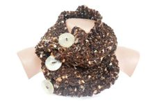 Free Shipping  Hand Knitted Cowl  Neck Warmer  Brown by noyumberry, $27.00