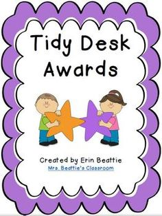 Tidy Desk Awards - Free