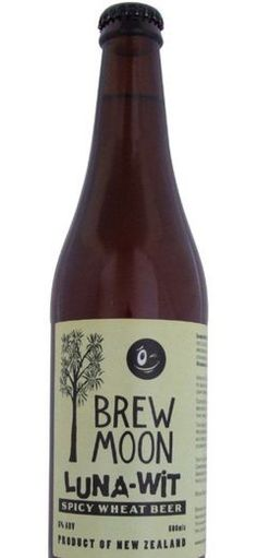 BREW MOON LUNA WIT: BEER WITH OBSCURE SPICY TINGE http://www.beerz.co.nz/beers-in-new-zealand/brew-moon-luna-wit-beer-with-obscure-spicy-tinge/ #newzealand #beernz #beer