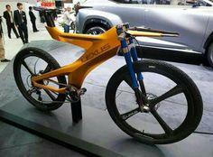 Lexus bike. Looks like a medical device!