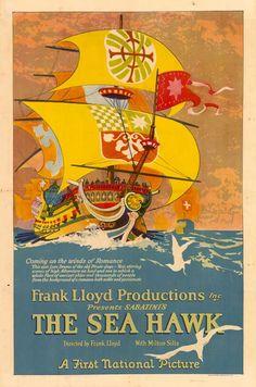 """""""The Sea Hawk"""" movie poster"""