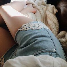 Lace + Denim = Perfection