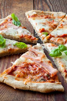 Pizza bezglutenowa na spodzie z kaszy gryczanej A Food, Food And Drink, Yams, Sandwiches, Clean Eating, Paleo, Gluten Free, Cooking, Fitness