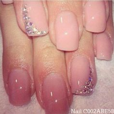 Beautiful (0.0) Simply paint your base color Apply the sticker details ;) You could also use rhinestones & nail glue, use a tweezer to place on your nail
