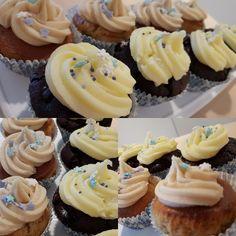 Have a break have a cupcake!   Schoko-Cupcake mit Schokostückchen Apfel-Zimt-Cupcake mit Zimt-Buttercreme