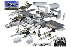 a10 warthog diagram - Google Search