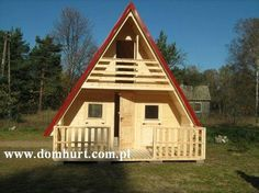 Domki letniskowe - SOKOŁEK Cool Campers, Home Fashion, Cabins, Frames, Alternative, 1, Houses, Gardening, Memories
