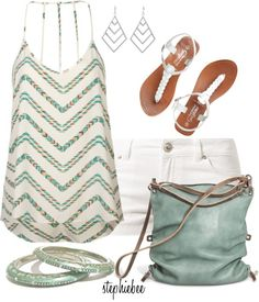 """Chevron"" by stephiebees on Polyvore"