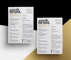 To help our readers land their dream job, we've collected stellar resume designs that feature skillful personal branding.