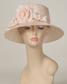 9414JEPS Jamie, pale rose – Louise Green Millinery
